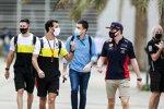 Daniel Ricciardo (Renault) und Max Verstappen (Red Bull)