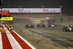 Antonio Giovinazzi (Alfa Romeo), Lando Norris (McLaren), Carlos Sainz (McLaren) und Pierre Gasly (AlphaTauri)