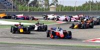 Formel-2-Action in Sachir
