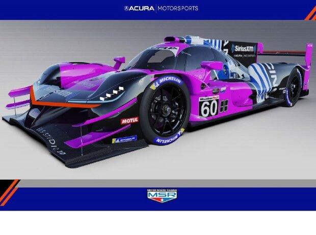 Acura ARX-05, Meyer Shank Racing