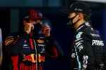 Max Verstappen (Red Bull) und George Russell (Mercedes)
