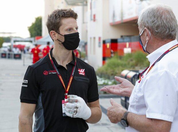Romain Grosjean, Helmut Marko