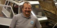 René Pohl, Fachmann für Amphibienfahrzeuge beim Oldtimerverband DEUVET
