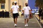 Valtteri Bottas (Mercedes) und George Russell (Mercedes)