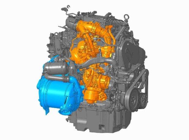 VW T6.: Motornahe Abgasreinigung