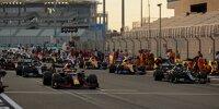 Max Verstappen, Valtteri Bottas, Lewis Hamilton, Lando Norris
