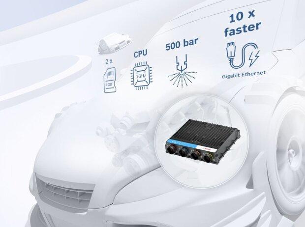 ECU: Elektronische Steuereinheit MS7.4 von Bosch