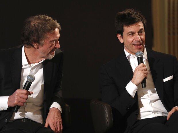 Toto Wolff und Jim Ratcliffe