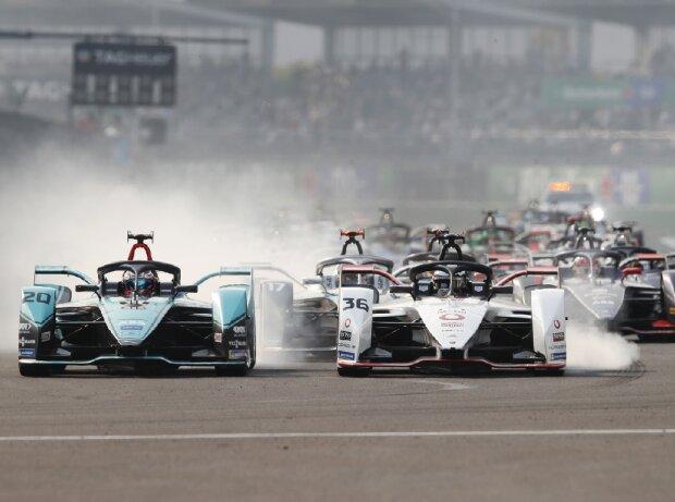 Start der Formel E in Mexiko-Stadt 2020