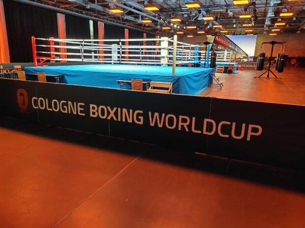 Cologne Boxing Worldcuo in der Motorworld Köln-Rheinland