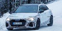 Neue Audi RS3 Sportback Erlkönigbilder