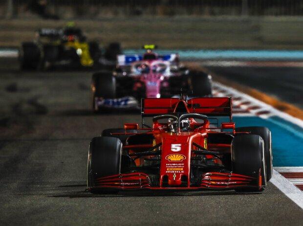 Sebastian Vettel, Lance Stroll