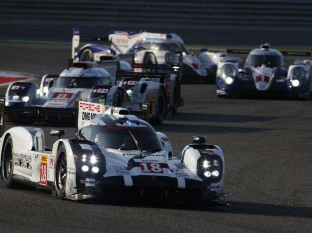 LMP1-Autos von Porsche, Audi, Toyota