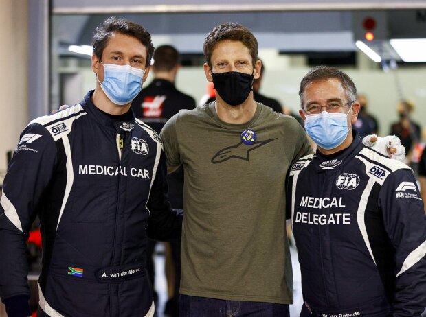 Romain Grosjean, Alan van der Merwe
