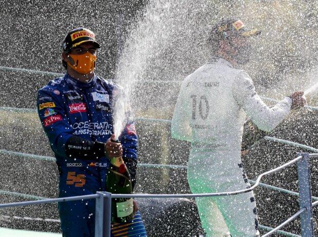 Carlos Sainz, Pierre Gasly