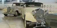 Mercedes-Sonderausstellung im Pantheon Basel