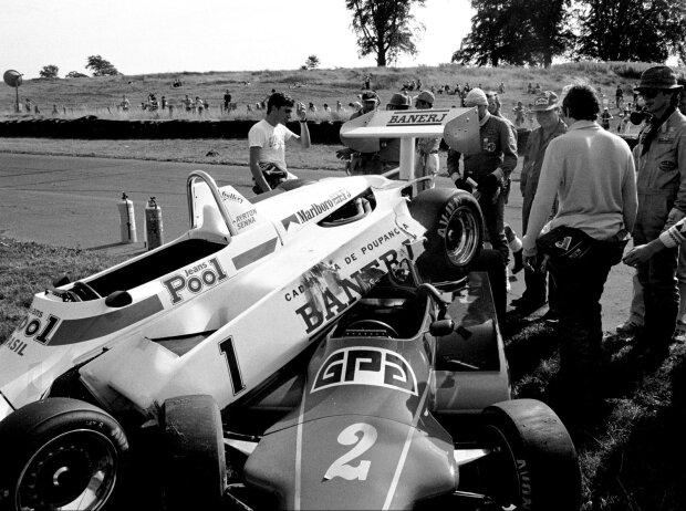 Ayrton Senna, Martin Brundle