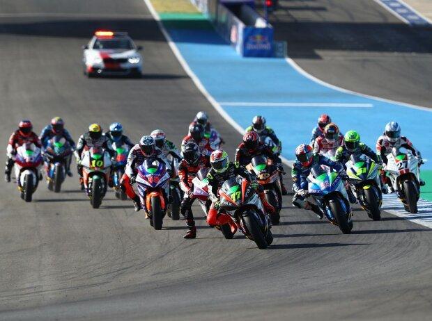 Start zum MotoE-Rennen in Jerez 2020