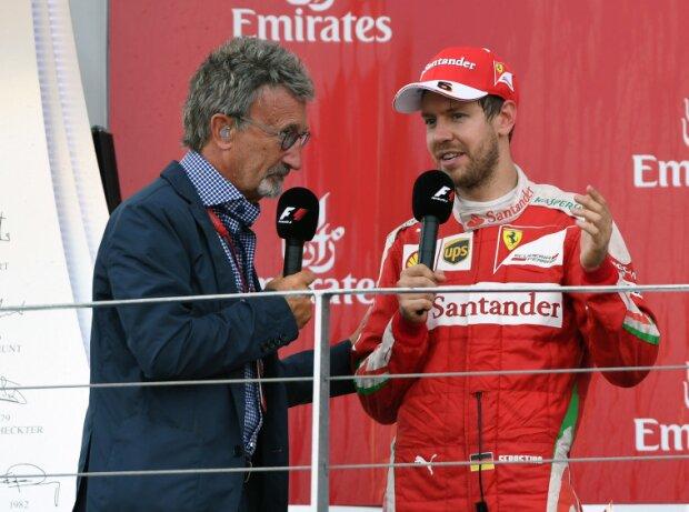 Eddie Jordan, Sebastian Vettel