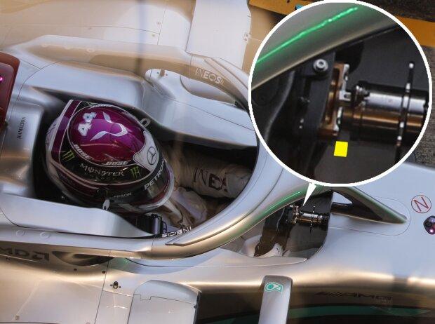DAS am Mercedes F1 W11 EQ Performance