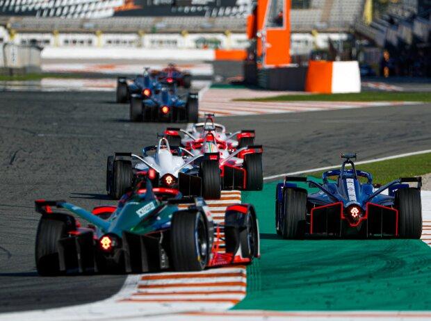 Formel-E-Test 2021 in Valencia