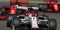 Kimi Räikkönen, Sebastian Vettel, Charles Leclerc