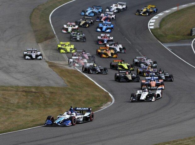 Start zum IndyCar-Rennen 2019 im Barber Motorsports Park