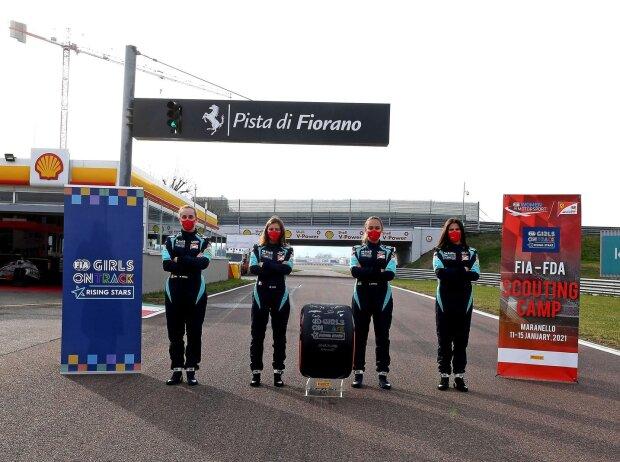 Girls on Track, Ferrari-Sichtung, Fiorano