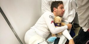 Powernap mit Teddy: Müller outet Frijns' Qualifying-Geheimnis in der DTM