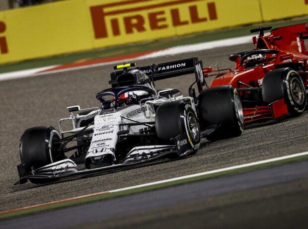 Pierre Gasly, Sebastian Vettel