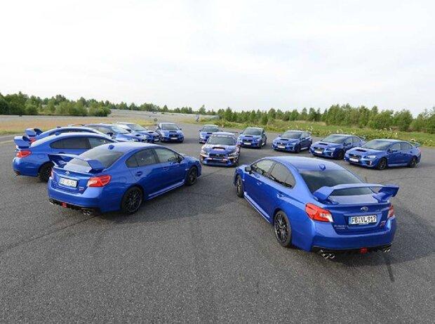 20 Jahre Subaru WRX STI und Impreza WRX STI