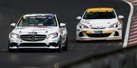 Mercedes C300, Opel Astra OPC, VLN, NLS