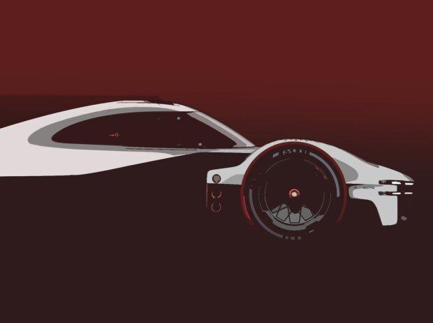 LMDh-Konzept von Porsche