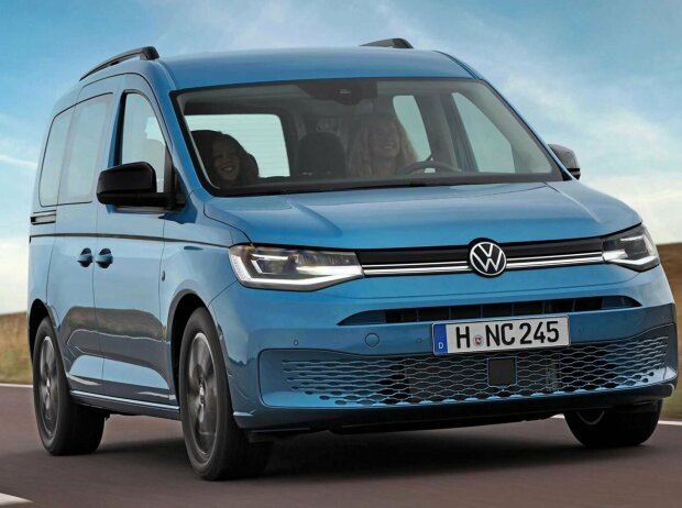 VW Caddy California: Neue Campingversion auf Basis des Caddy der fünften Generation