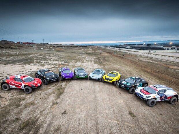 Elektro-SUVs für die Extreme-E-Saison 2021