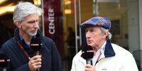 Damon Hill, Jackie Stewart