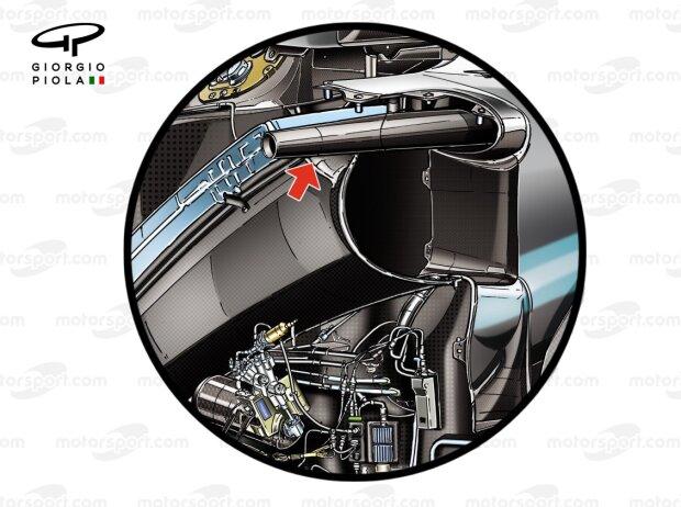 Seitenaufprallschutz Mercedes W10