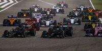 George Russell, Valtteri Bottas, Sergio Perez, Charles Leclerc, Max Verstappen, Daniel Ricciardo