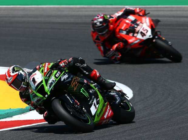 Jonathan Rea, Scott Redding
