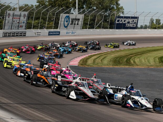 IndyCar-Start im Gateway Motorsports Park in St. Louis