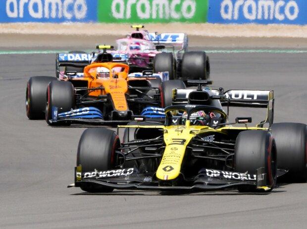 Daniel Ricciardo, Lando Norris, Lance Stroll