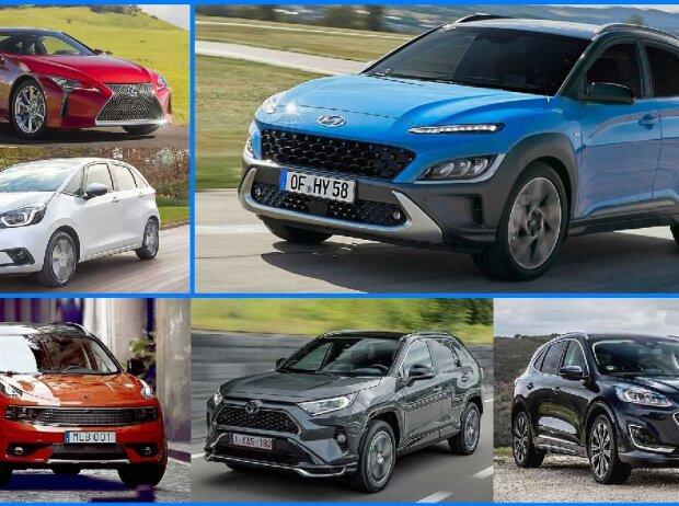 Vollhybrid-Autos (2021) in der Übersicht