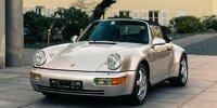 Porsche 911 (1992) von Diego Maradona steht zum Verkauf