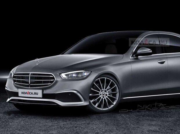 Mercedes C-Klasse (2021) im neuesten Rendering von Kolesa