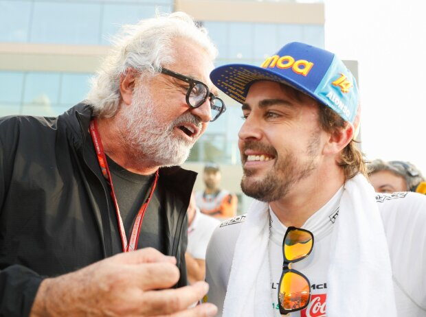 Fernando Alonso, Flavio Briatore