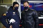 Sergio Perez (Red Bull), Christian Horner