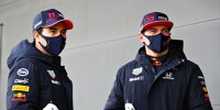 Max Verstappen, Sergio Perez, Mark Thompson