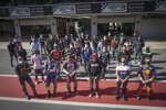 Neben den MotoGP-Stars waren auch einige Fahrer aus den kleinen Klassen vor Ort