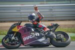 Jack Miller mit seiner Ducati Panigale V4S