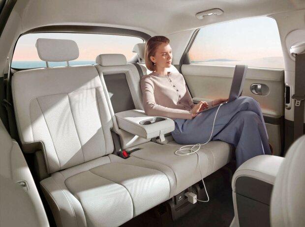 Fond mit der Rückbank des Hyundai IONIQ 5